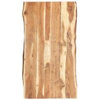 """vidaXL Table Top Solid Acacia Wood 47.2""""x(19.7""""-23.6"""")x1.5"""""""