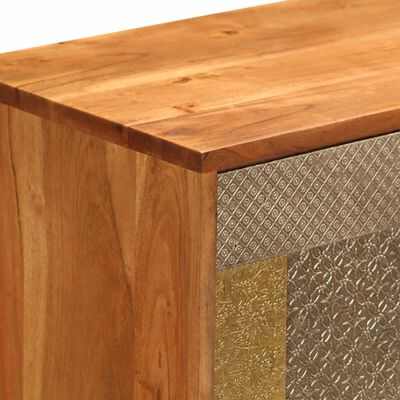 """vidaXL Sideboard 31.4""""x11.8""""x29.5"""" Solid Acacia Wood"""