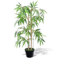 """Artificial Bamboo Plant """"Twiggy"""" with Pot 35"""""""