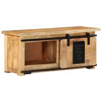 "vidaXL TV Cabinet 35.4""x13.8""x15.7"" Solid Mango Wood"