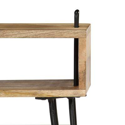 """vidaXL Bedside Table Solid Mango Wood 15.7""""x13.4""""x18.5"""""""