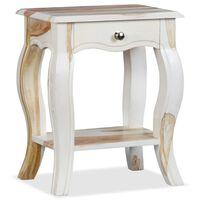 """vidaXL Bedside Cabinet Solid Sheesham Wood 15.8""""x11.8""""x19.7"""""""