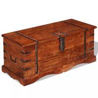 vidaXL Storage Chest Solid Wood