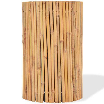 """vidaXL Bamboo Fence 196.9""""x19.7"""""""