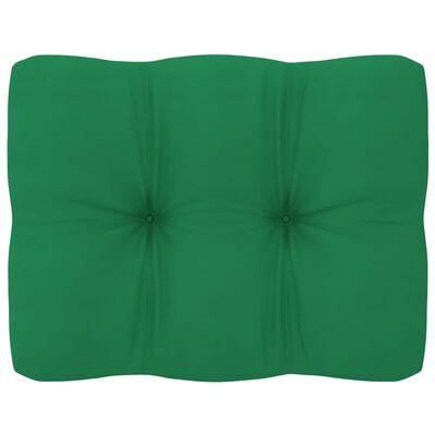 vidaXL Pallet Sofa Cushions 2 pcs Green
