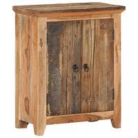 """vidaXL Sideboard 23.6""""x13""""x29.5"""" Solid Acacia Wood and Reclaimed Wood"""
