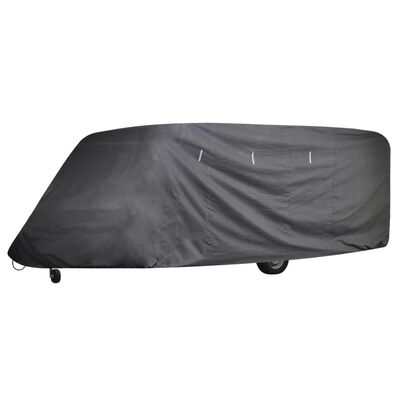 vidaXL Caravan Cover Gray S