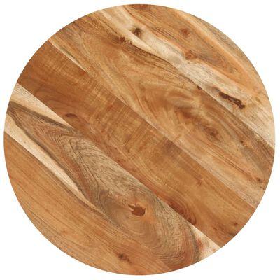 """vidaXL Bistro Table Round Ø19.7""""x29.5"""" Solid Acacia Wood"""
