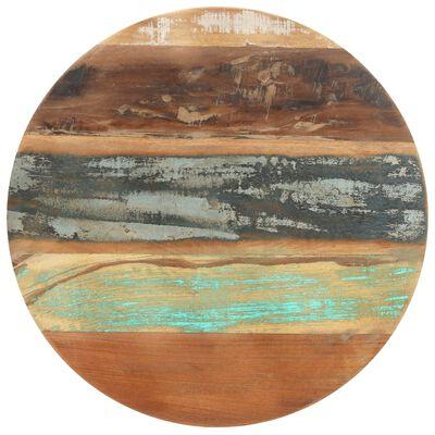 "vidaXL Bistro Table ?23.6""x29.9"" Solid Reclaimed Wood"