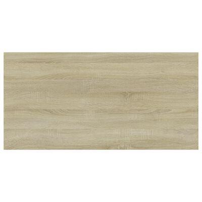 """vidaXL Bookshelf Boards 4 pcs Sonoma Oak 23.6""""x11.8""""x0.6"""" Chipboard"""