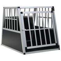 "vidaXL Dog Cage with Single Door 25.6""x35.8""x27.4"""