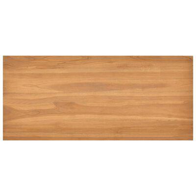 """vidaXL Desk 39.4""""x17.7""""x29.5"""" Solid Teak Wood"""