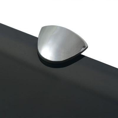 "vidaXL Floating Shelves 2 pcs Glass 15.7""x7.9"" 0.3"""