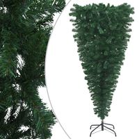 """vidaXL Upside-down Artificial Christmas Tree with Stand Green 70.9"""""""