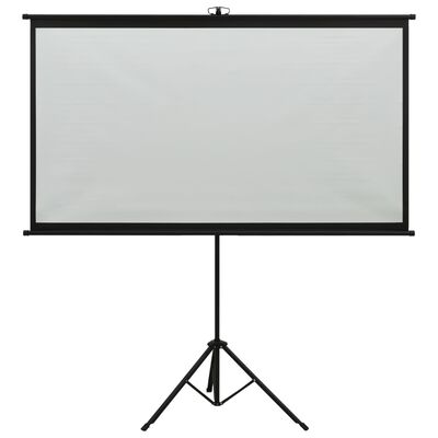 "vidaXL Projection Screen with Tripod 100"" 4:3"