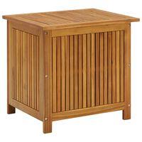 "vidaXL Garden Storage Box 23.6""x19.7""x41.7"" Solid Acacia Wood"