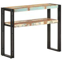 "vidaXL Console Table 35.4""x11.8""x29.5"" Solid Reclaimed Wood"