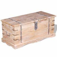 vidaXL Storage Chest Acacia Wood