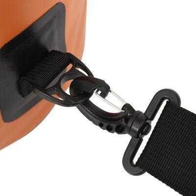vidaXL Dry Bag Orange 1.3 gal PVC
