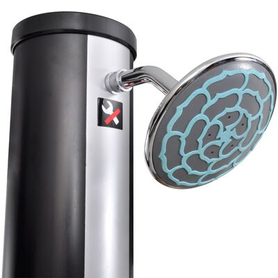 Outdoor Solar Shower with Shower Head and Faucet 9.25 Gallon