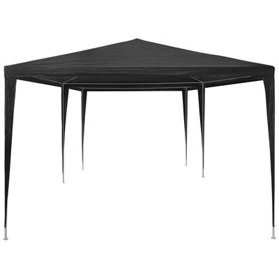 "vidaXL Party Tent PE Anthracite 9'10""x19'8"""