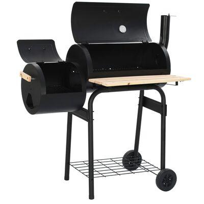 vidaXL Classic Charcoal BBQ Offset Smoker