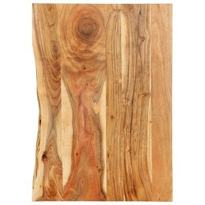 """vidaXL Bathroom Vanity Top Solid Acacia Wood 31.5""""x21.7""""x1"""""""