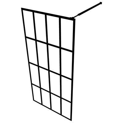 "vidaXL Walk-in Shower Screen Tempered Glass 46.5""x74.8"""
