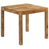 "vidaXL Dining Table Solid Mango Wood 32.3""x31.5""x29.9"""