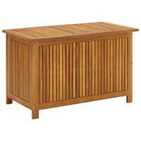 "vidaXL Garden Storage Box 35.4""x19.7""x22.8"" Solid Acacia Wood"