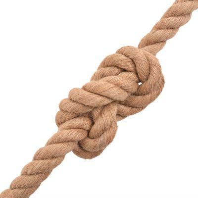 """vidaXL Rope 100% Jute 0.39"""" 3937"""""""