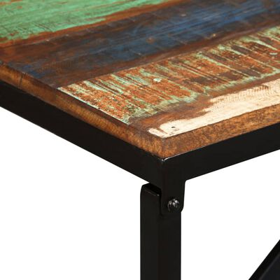 "vidaXL Bench Solid Reclaimed Wood 63""x13.8""x17.7"""