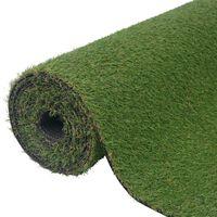 """vidaXL Artificial Grass 1.5x5 yd/0.79""""-0.98"""" Green"""