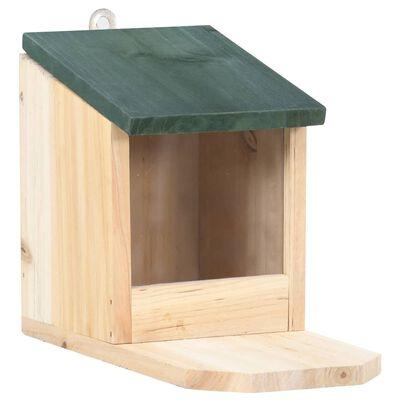 vidaXL Squirrel Houses 4 pcs Firwood