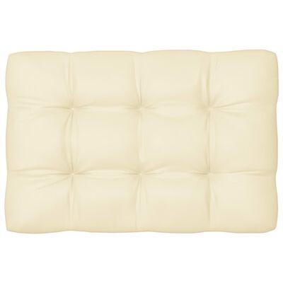vidaXL Pallet Sofa Cushions 7 pcs Cream