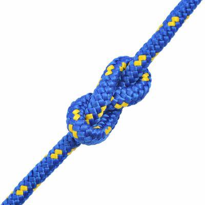 "vidaXL Marine Rope Polypropylene 0.31"" 3937"" Blue"