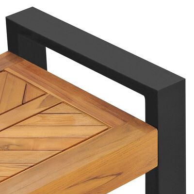 """vidaXL Bench 47.2"""" Solid Teak Wood"""