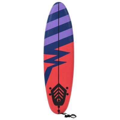 """vidaXL Surfboard 66.9"""" Stripe"""