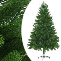 "vidaXL Artificial Christmas Tree Lifelike Needles 70.9"" Green"