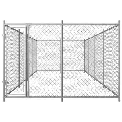 "vidaXL Outdoor Dog Kennel 315""x157.5""x78.7"""