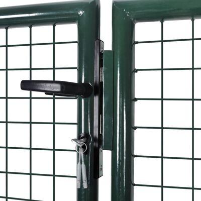 """vidaXL Garden Mesh Gate Fence Door Wall Grille 113.8"""" x 29.5"""" / 120.5"""" x 49.2"""""""