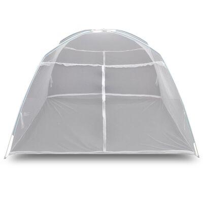 """Mongolia Net Mosquito Net 2 Doors 6' 7"""" x 4' 11"""" x 4' 9"""" White"""