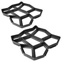 """Pavement Mold for the Garden 16.5""""x16.5""""x1.6"""" Set of 2"""