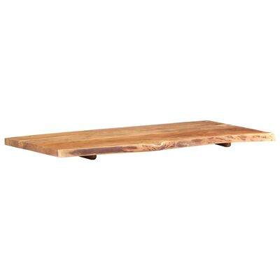 """vidaXL Bathroom Vanity Top Solid Acacia Wood 47.2""""x21.7""""x1.5"""""""