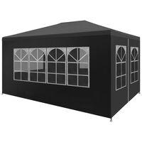 "vidaXL Party Tent 9'10""x13'1"" Anthracite"