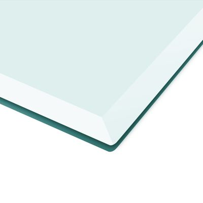 """vidaXL Table Top Tempered Glass Square 31.5""""x31.5"""""""
