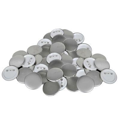 """500 pcs PinBack Button Parts 1"""""""