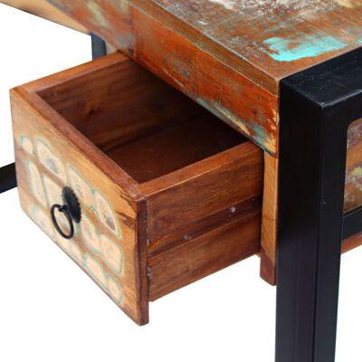 vidaXL Desk Solid Reclaimed Wood