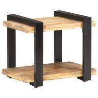 "vidaXL Bedside Cabinet 19.7""x15.7""x15.7"" Solid Reclaimed Wood"