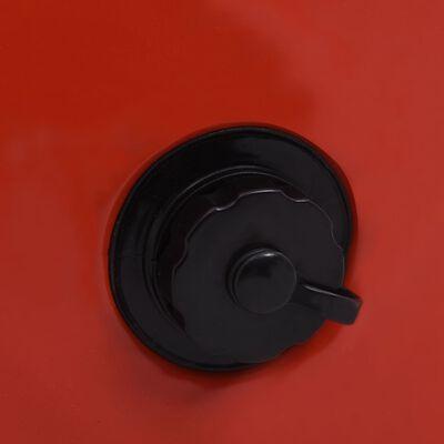 "vidaXL Foldable Dog Swimming Pool Red 31.5""x7.9"" PVC"